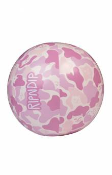 Beach Bum Beach Ball - Pink Camo