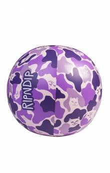 Beach Bum Beach Ball - Purple Camo