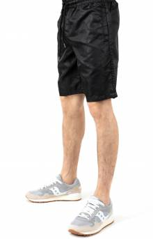 Black Out Nylon Shorts - Black