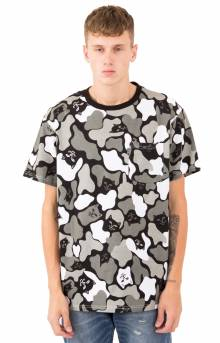 Blizzard Camo T-Shirt - Black