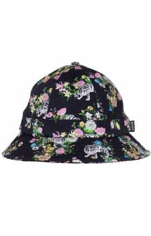 Blooming Nerm Cotton Twill Bucket Hat - Black