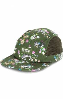 Blooming Nerm Cotton Twill Camper - Olive Green