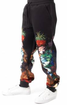 Bouquet Sweatpants - Black