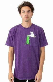 Break Yo Self T-Shirt - Purple Mineral Wash
