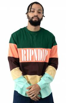 Chromatic Cotton Jersey L/S Shirt - Multi