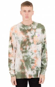 Flowers For Bae L/S Shirt - Green/Pink Acid