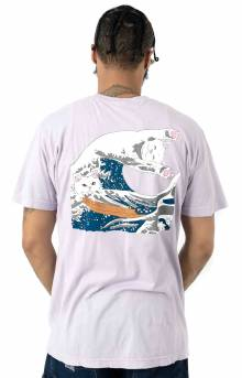 Great Wave T-Shirt - Lavender