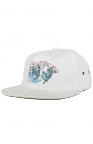 Heaven And Hell Strap-Back Hat - White