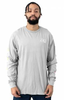 Hot Head L/S Shirt - Heather Grey