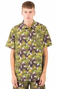 Jungle Nerm Button-Up Shirt - Black