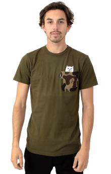Lord Nermal Camo Pocket T-Shirt - Army Camo