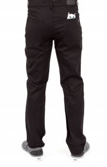 Lord Nermal Denim Pants - Black