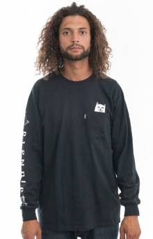 Lord Nermal L/S Shirt - Black