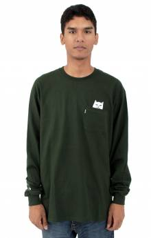 Lord Nermal L/S Shirt - Hunter Green