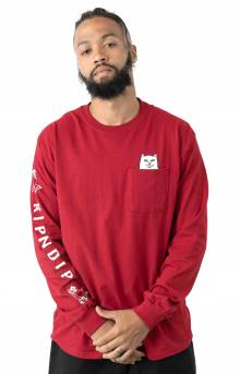 Lord Nermal L/S Shirt - Red