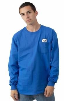 Lord Nermal L/S Shirt - Royal Blue