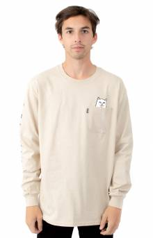 Lord Nermal Pocket L/S Shirt - Tan