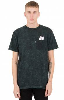 Lord Nermal Pocket T-Shirt - Aqua Mineral Wash