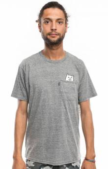 Lord Nermal Pocket T-Shirt - Athletic Heather Grey