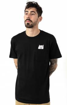 Lord Nermal Pocket T-Shirt - Black