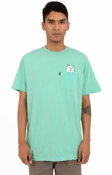Lord Nermal Pocket T-Shirt - Over Dyed Mint