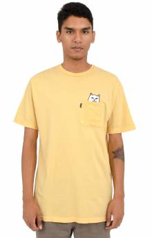 Lord Nermal Pocket T-Shirt - Yellow