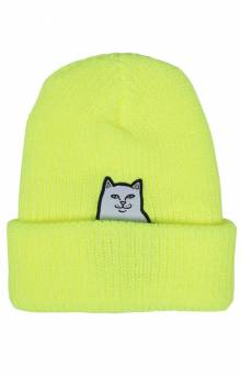 Lord Nermal Rib Beanie - Safety Yellow