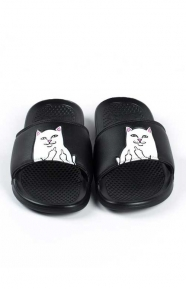 brand new 5880c 6c918 RIPNDIP Clothing, Lord Nermal Slides - Black