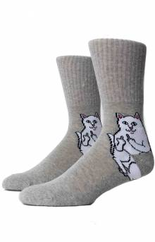 Lord Nermal Socks - Heather Grey