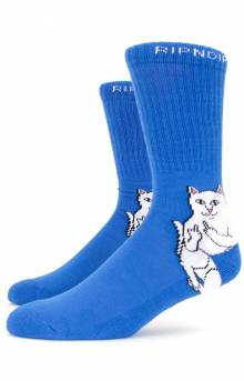 Lord Nermal Socks - Royal Blue