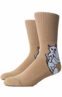 Lord Nermal Socks - Tan