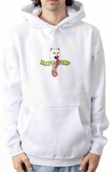 Mico Nerm Pullover Hoodie - White