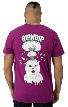 Mind Blown T-Shirt - Purple