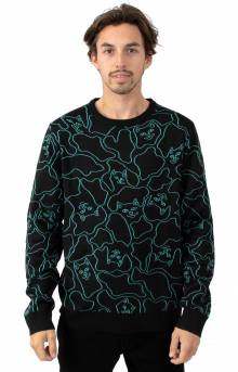 Nerm Line Camo Knit Sweater