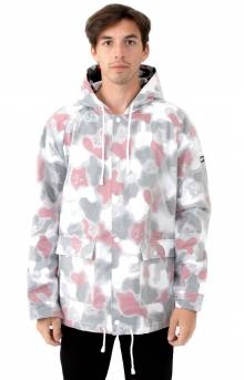 Nerm Psycho Clear Rain Coat - Red Camo