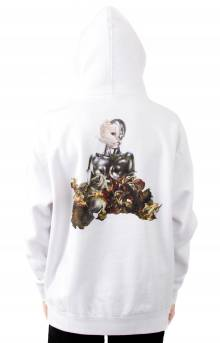 Nermaissance Pullover Hoodie - White
