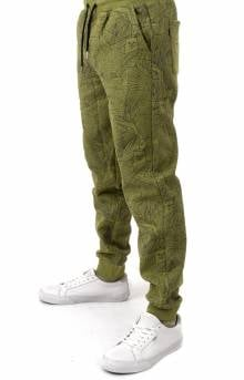 Nermal Leaf Sweatpants - Olive