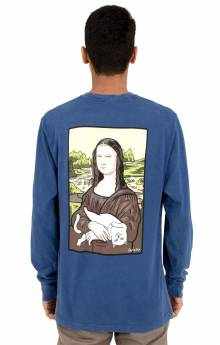 Nermal Lisa L/S Shirt - Blue Mineral Wash