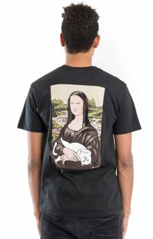 Nermal Lisa Pocket T-Shirt - Black