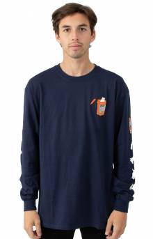 Nermal Pills L/S Shirt - Navy