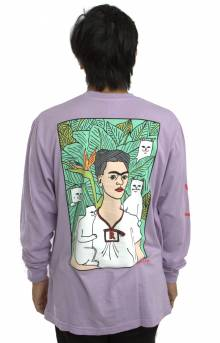 Nermal Portrait L/S Shirt - Powder Grape