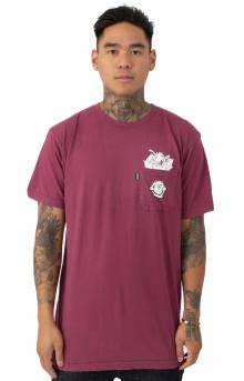 Nermamaniac T-Shirt - Burgundy