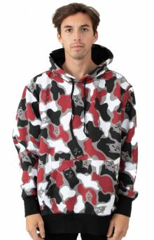 Nermcamo Pullover Hoodie - Red Camo