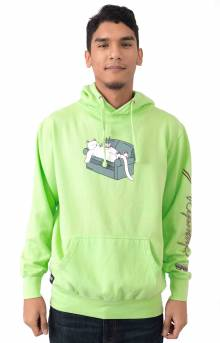 Noodles Pullover Hoodie - Lime