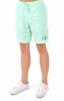 Paradise Terry Cloth Shorts - Mint