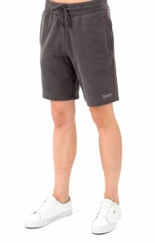 Peek A Nerm Over Dye Sweat Short - Black
