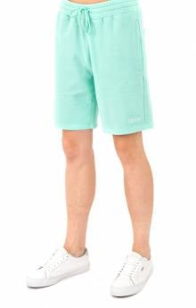 Peek A Nerm Over Dye Sweat Short - Mint