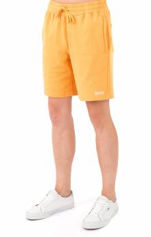 Peek A Nerm Over Dye Sweat Short - Orange