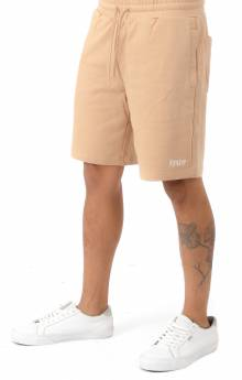 Peeking Nerm Sweat Shorts - Tan