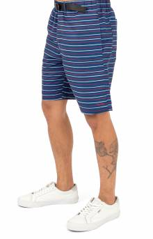 Peeking Nermal Nylon Belt Shorts - Navy